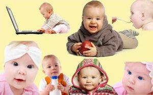 مجموعه آیکن کودک و نوزاد psd