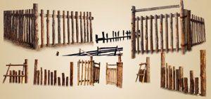 آیکن نرده های چوبی psd
