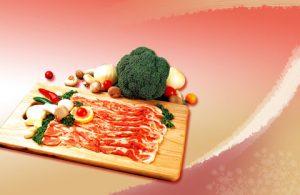 بکگراند کارت ویزیت سوپر گوشت
