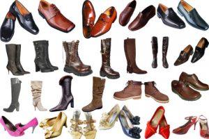 مجموعه آیکن کفش مردانه و زنانه