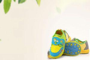 بکگراند کارت ویزیت کفش کودکانه