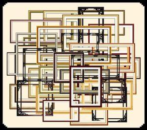 مجموعه قاب عکس سنتی چوبی psd