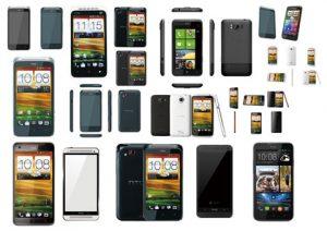 مجموعه آیکن گوشی موبایل