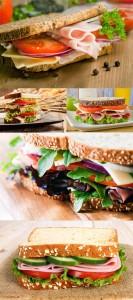 مجموعه 5 تصویر ساندویچ کالباس 7000x4660