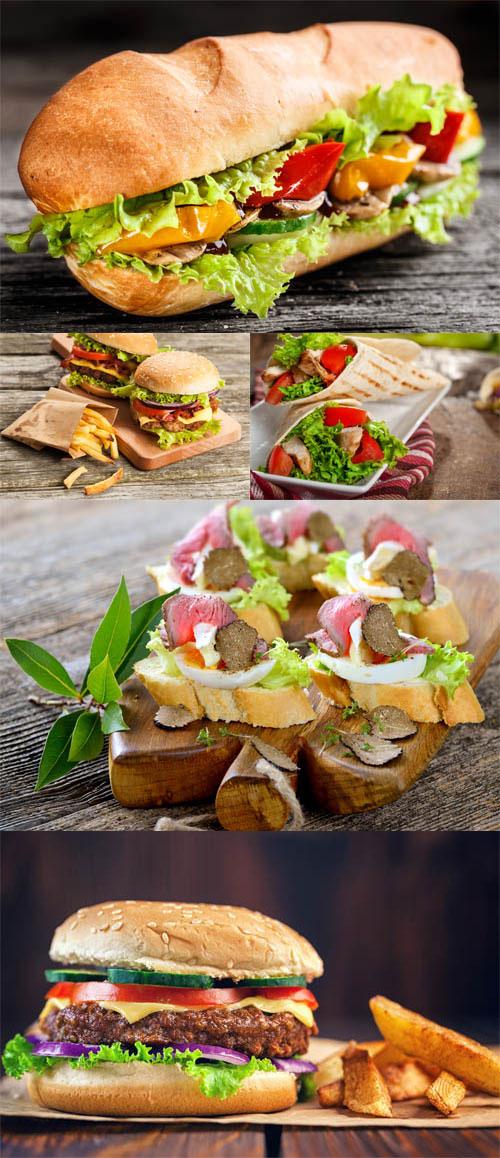 مجموعه 5 عکس ساندویچ در سایز 8000x5339
