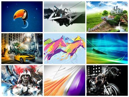 مجموعه 75 عکس گرافیکی هنری 2560x1600