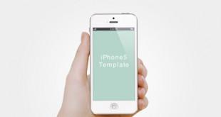 طرح لایه باز پیش نمایش گوشی موبایل psd