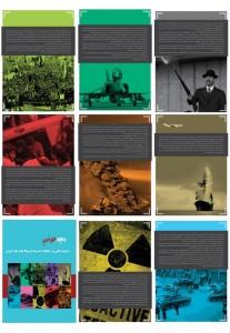 مجموعه پوستر نمایشگاه جنایات امریکا در ایران