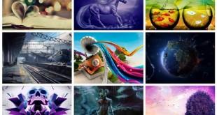 مجموعه 75 تصویر سه بعدی گرافیکی 2560x1600