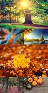 مجموعه فوق العاده با کیفیت عکس پاییزی 8736x5824