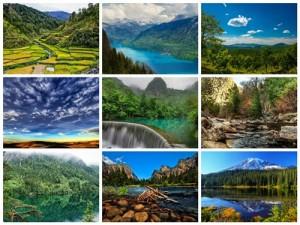 دانلود مجموعه عکس طبیعت رودخانه و دریا 2560x1600