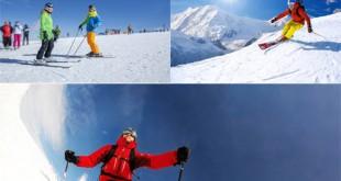 دانلود مجموعه عکس اسکی روی برف 8000x5340