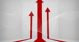 طرح سه بعدی پیشرفت در کسب و کار psd