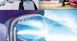 مجموعه تصاویر استوک اسکی روی برف 7000x4667