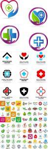 وکتور لوگو مراکز درمانی و سلامت AI و TIF