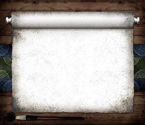 طرح لایه باز کاغذ قدیمی کتیبه ای psd