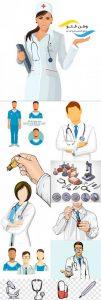 مجموعه وکتور پزشک و لوازم پزشکی EPS
