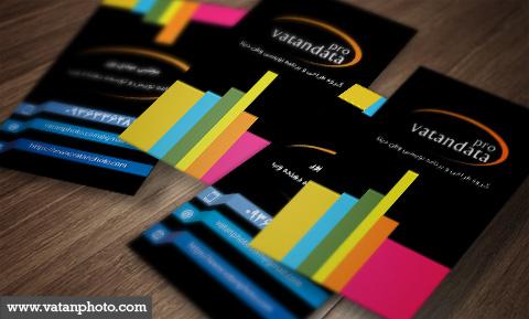 کارت ویزیت شخصی طراح وب psd