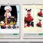 تقویم 96 دیواری عکس کودک