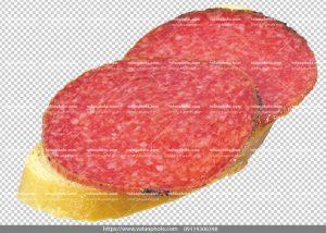 عکس بدون بکگراند نان ژامبون گوشت
