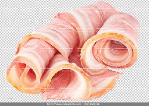 عکس بدون بکگراند ترانسپارنت بیکن گوشت 5