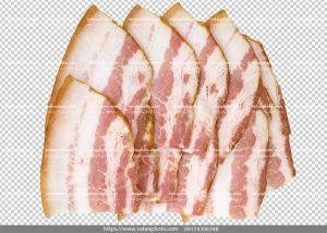 عکس بدون بکگراند ترانسپارنت بیکن گوشت 6