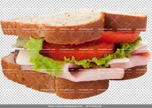 عکس بدون بکگراند ساندویچ