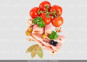 عکس بدون بکگراند ترانسپارنت بیکن گوشت 8