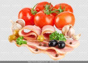 عکس بدون بکگراند ترانسپارنت بیکن گوشت 9