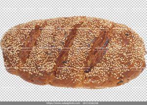 عکس بدون بکگراند نان حجیم کشمشی