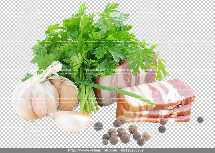 عکس بدون بکگراند ترانسپارنت بیکن گوشت 17