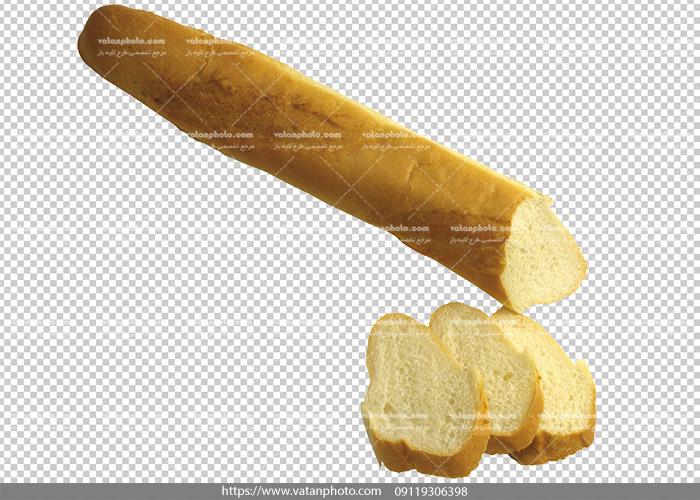 عکس بدون بکگراند ترانسپارنت نان باگت 1