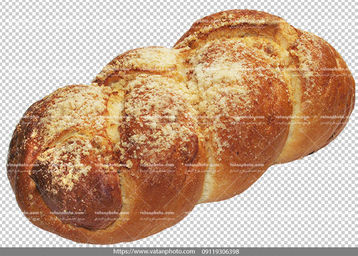عکس بدون بکگراند نان حجیم شیرین 1