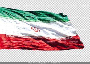 عکس بدون بکگراند پرچم ایران