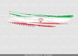 عکس بدون بکگراند پرچم ایران 4