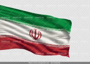 عکس ترانسپارنت پرچم ایران