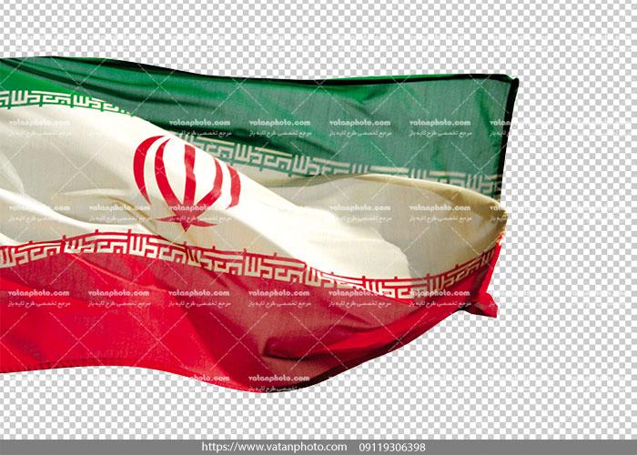 عکس بدون بکگراند پرچم ایران png