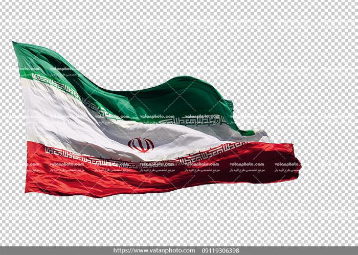 عکس ترانسپارنت پرچم ایران png
