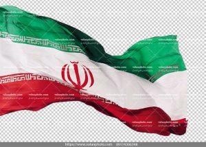 عکس png بدون بکگراند پرچم ایران