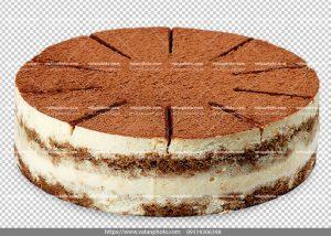 عکس بدون بکگراند کیک نسکافه