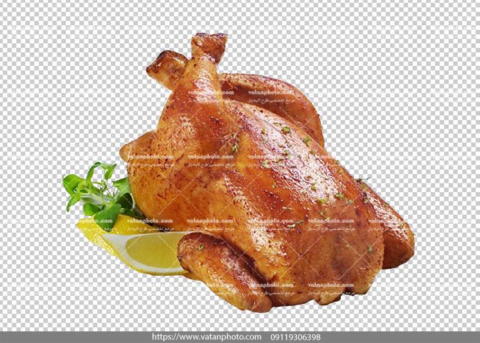 عکس ترانسپارنت مرغ بریان