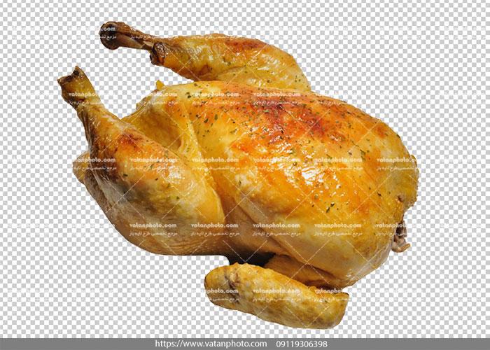 عکس ترانسپارنت مرغ سرخ شده