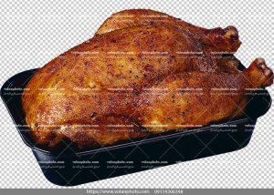 عکس بدون بکگراند مرغ بریان
