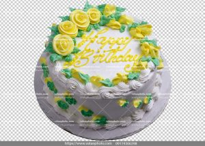 عکس بدون بکگراند کیک سفید