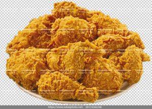 عکس بدون بکگراند اسپایسی مرغ