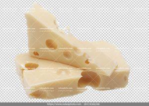 عکس دور بر شده پنیر