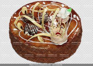 عکس بدون بکگراند کیک شکلاتی
