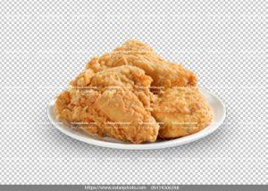 عکس بدون بکگراند اسپایسی سینه مرغ