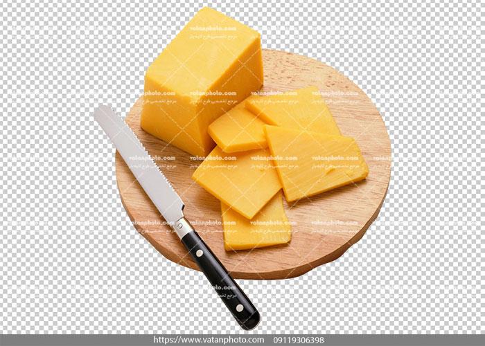 عکس بدون بکگراند پنیر صبحانه