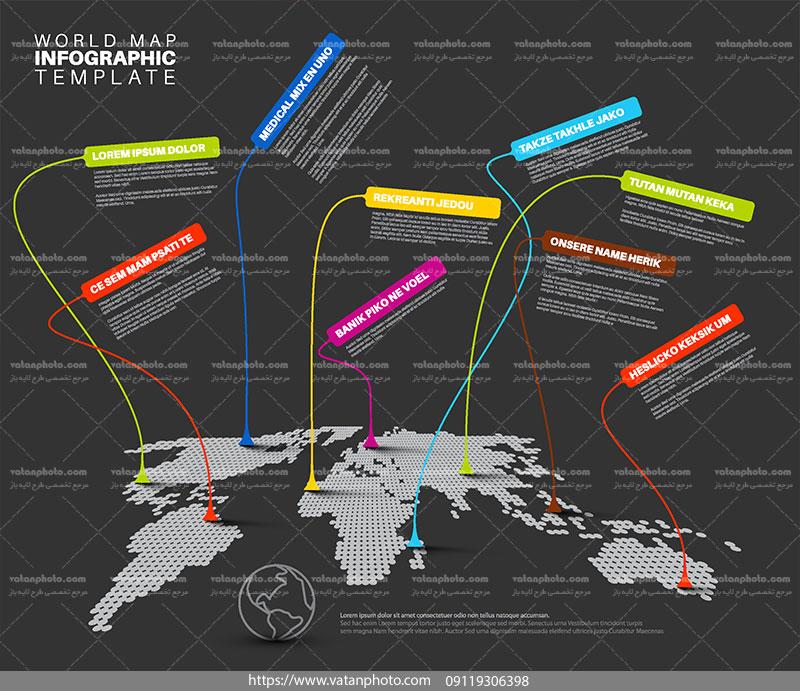 اینفوگرافی جهانی مرحله ای 3